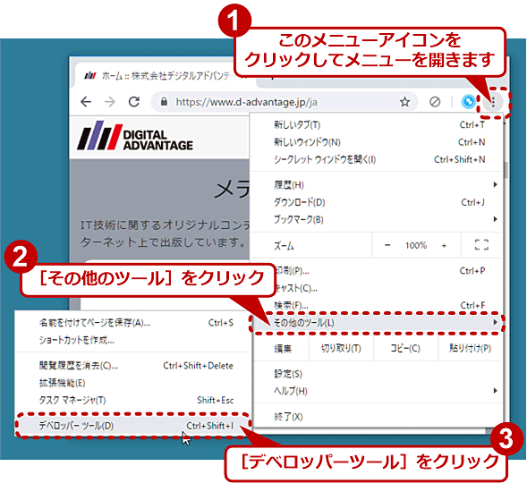 PC向けのWebページ全体をキャプチャーする(1/6)