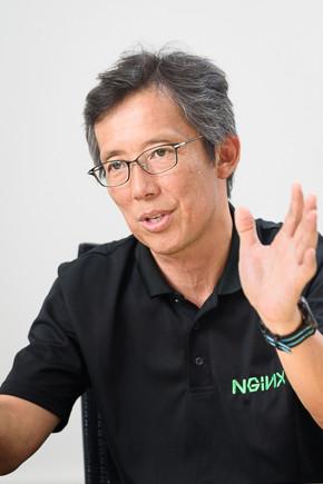 F5ネットワークスジャパン NGINX事業本部 本部長 中島健氏