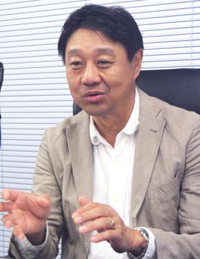 ワイドテック プロダクト事業部 セールスマネジャー 香取邦彦氏