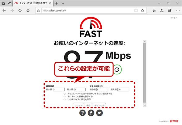 Fast.comによるインターネット速度計測(3)