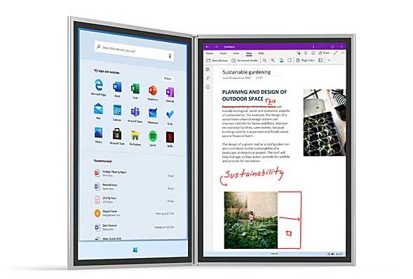 Microsoftの「Surface Neo」