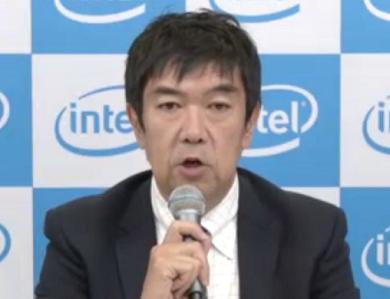 インテル 執行役員 パートナー事業本部本部長 兼 クライアントコンピューティング事業統括の井田晶也氏