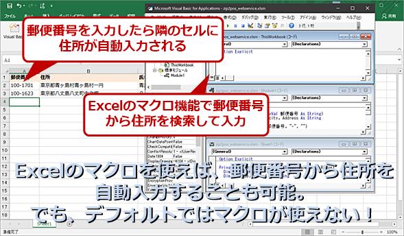 Excelのマクロは便利なのだが……