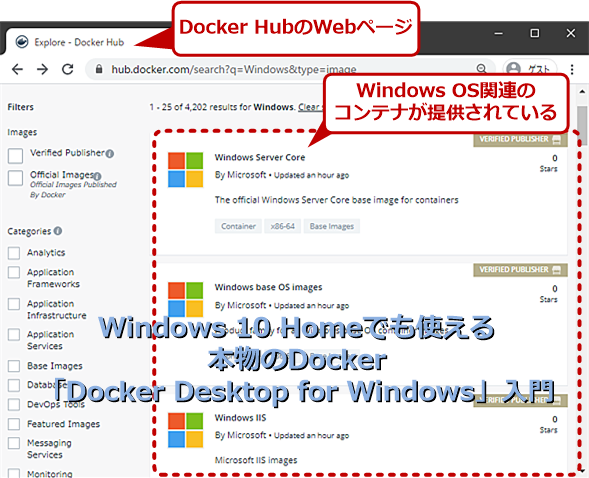 Windows 10 Homeでも使える本物のDockerの提供開始