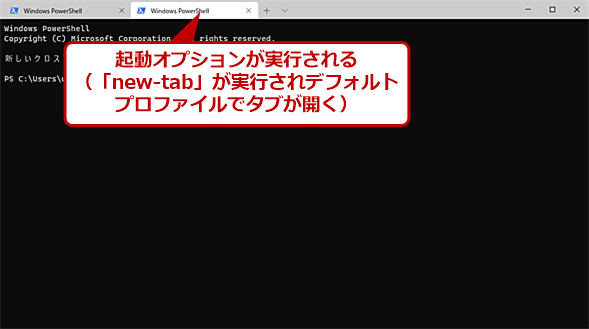 コマンドパレットの「Command Line Mode」(2)