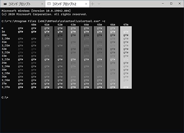 HLSLシェーダーによるグレースケール表示