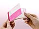 コクヨS&T、パラパラめくれる名刺入れサイズのミニノート