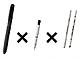 複数のシャープペンとボールペンから4000通り以上の組み合わせ——新型「シャーボ」