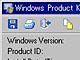 Windowsのプロダクトキーを表示する