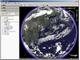 Google Earthに気象情報レイヤー登場——「雲」や「気象レーダー」も