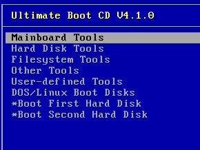 Ultimate Boot CDでHDDをチェック - F3Aタッチ& …