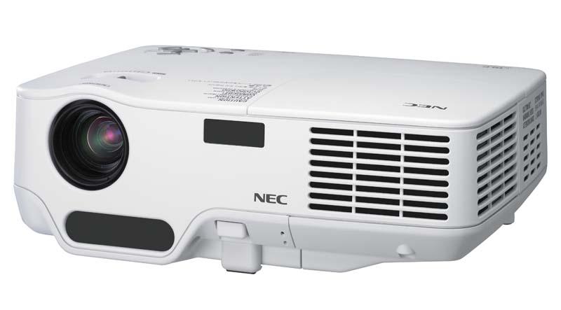 仕事耕具:NEC、世界最軽量プロジェクタの後継機 静音性と色再現性を向上