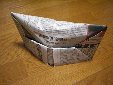 ハート 折り紙 新聞紙 ゴミ箱 折り方 簡単 : matome.naver.jp