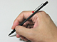 リング式ノートに挿せる細身のペンを探す