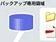 「インターネットディスク」に容量無制限のバックアップ機能