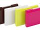 仕事耕具:キングジム、女性向け文具「Toffy」にカラフルな名刺ケースとクリアファイル