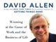 GTDの専門家デビッド・アレン、かく語りき。「生産性向上とソフトウェアについて」