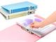 仕事耕具:キングジム、仕切り付き収納ボックス&パステルカラーの書類ファイル