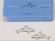 """仕事耕具:""""イルカ""""で書類をまとめてみる? 水族館モチーフのデザインクリップ"""