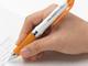 """仕事耕具:自分の指に「セルフィット」 ぺんてるから握った形を""""覚える""""ペン"""
