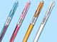 仕事耕具:ぺんてる、0.3ミリの極細ボールペン「スリッチ」に多色タイプ