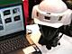 SECURITY SHOW 2009:携帯よりすごい? ハンズフリー通話、GPS、カメラ付き——ヘルメット