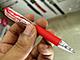 ISOT 2009:ゼブラの油性ボールペン「ジムノック」がくっきりなめらかに