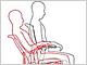「くるぶしと背もたれがシンクロ」のワーキングチェア、オカムラから