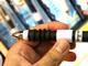 """ギフト・ショー秋2009:リングを回して""""手にフィット"""" グリップの柔らかさを調節できるボールペン"""