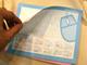 ギフト・ショー秋2009:「メモ帳が見当たらない!」を解消——すべり止め付き「マウスパッドメモ」