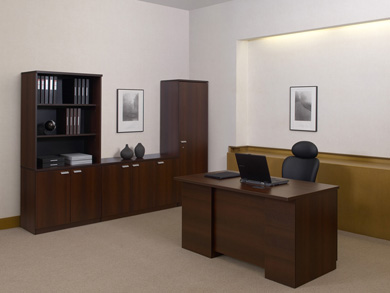 仕事耕具:プラスが役員向けオフィス家具「CE」、価格帯は「最廉価クラス」