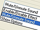 PCの画面ロック時に音量をミュート状態にする