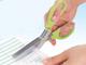 仕事耕具:処理したい部分だけを細かく切れるシュレッダーハサミ「チョッキル」