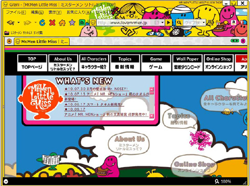 Mr.Men Little Miss×Grani