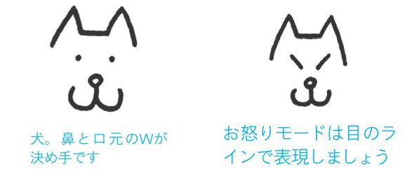 絵文字入門5ソフトバンクのお父さん犬って描ける Itmedia