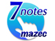 R25��Android�A�v����܁A�r�W�l�X����Ɂu7notes with mazec�v