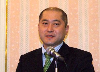 10月26日に就任した喜久川政樹代表取締役社長