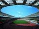 スタジアム管理にドローン活用、自動航行で目視点検を効率化