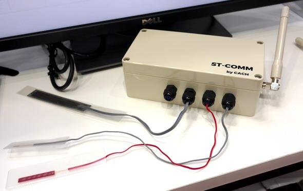 ワイヤレスひずみモニタリングシステム「ST-COMM」