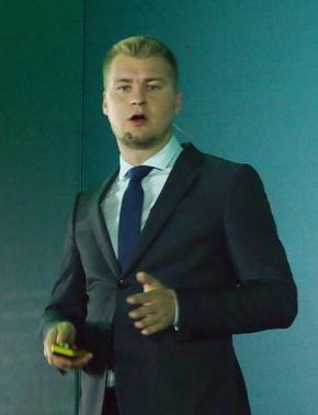 Kasperskyでインダストリアルサイバーセキュリティビジネスデベロップメントのヘッドを務めるGeorgy Shebuldaev氏