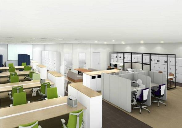 1階オフィススペース