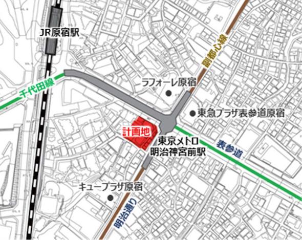 事業地の位置図