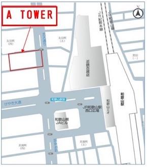 A TOWER所在図