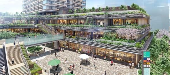 野村不動産が小金井市にマンション一体型の複合施設を開業 ...