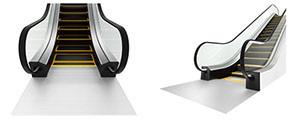 新型エスカレーター「TXシリーズ」の外観イメージ