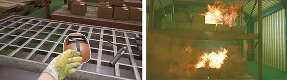 【提供コンテンツ例】溶接作業での火災溶接作業での火災