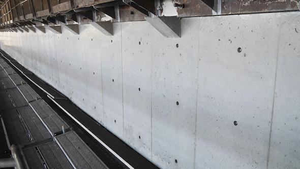 施工後の擁壁
