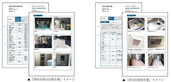 報告書テンプレートイメージ