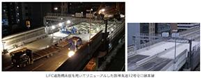UFC道路橋床版を用いてリニューアルした阪神高速12号守口線本線