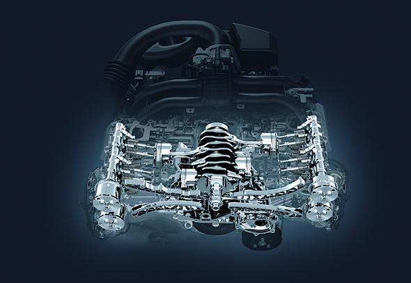 スバルの特徴とも言える水平対向エンジンだが構造的にコスト高から逃れられない